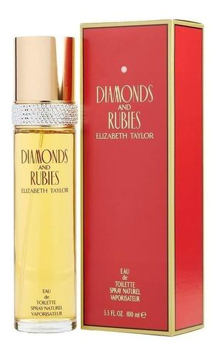 Perfume Diamantes Y Rubies Elizabeth T. - Ml A $749