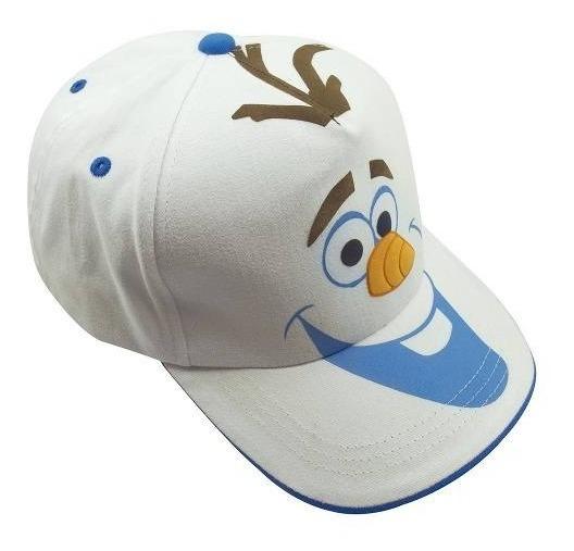 Boné Infantil Branco Olaf Frozen - Disney