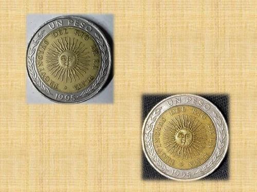 Imagen 1 de 2 de Vendo Moneda Mal Acuñada De $1 Error Ortográfico Provingias