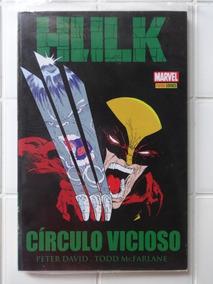 Hulk Círculo Vicioso - Peter David - Todd Mcfarlane Lacrado