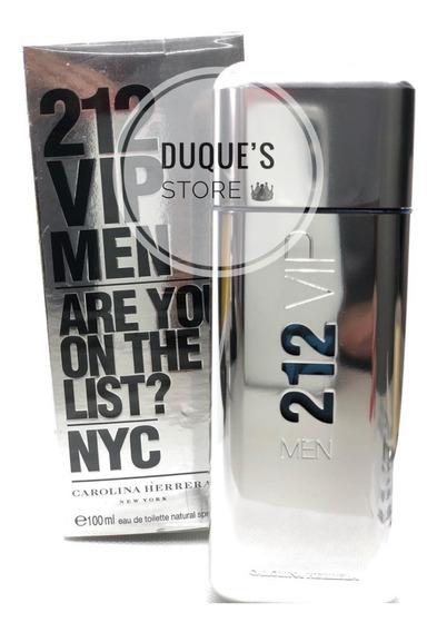 212 Vip Men Edt 100ml Perfume Masculino Carolina Herrera