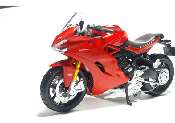 Miniatura Moto Ducati Superspor S Maisto 1.18 Coleção Hobbi