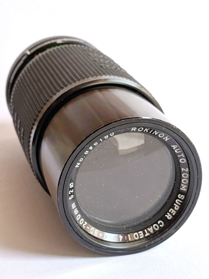 Lente Objetiva Rokinon 80-200mm F/4.5 Para Olympus