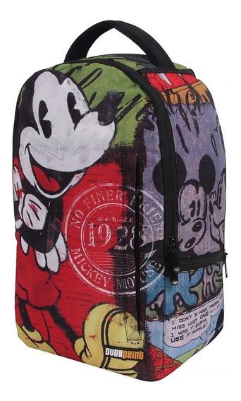 Mochila Dermiwil Mickey Mouse Vintage Feminino Escolar