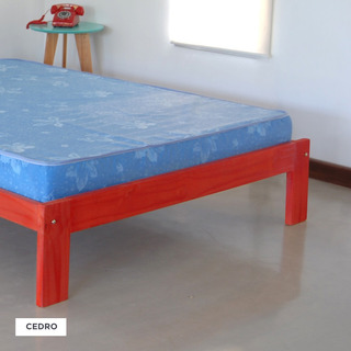 Cama Otomana Tipo Sommier P/colchon 90x190 + Colchon 90x190