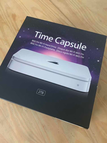 Time Capsule Da Apple - 2tb - Modelo A1355