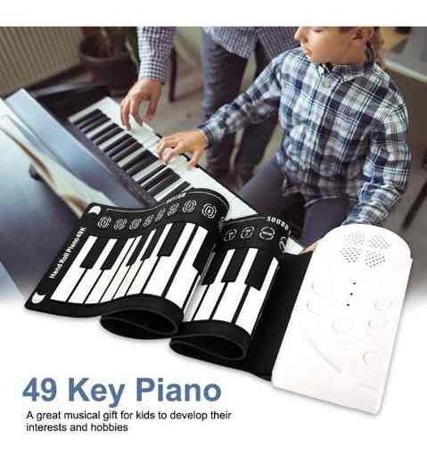 Novo Piano Flexível De 49 Teclas De Piano Eletrônico 20·