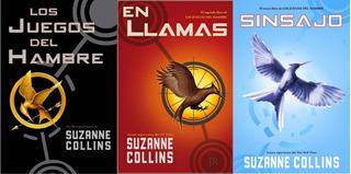 Trilogía Juegos Del Hambre Suzanne Collins
