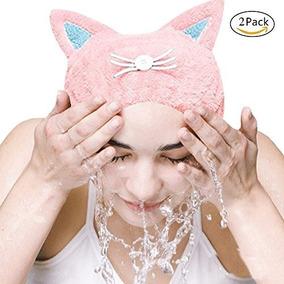 Phnam Linda Cabello Seco Towel Cap Sombrero Ultra Suave Abso