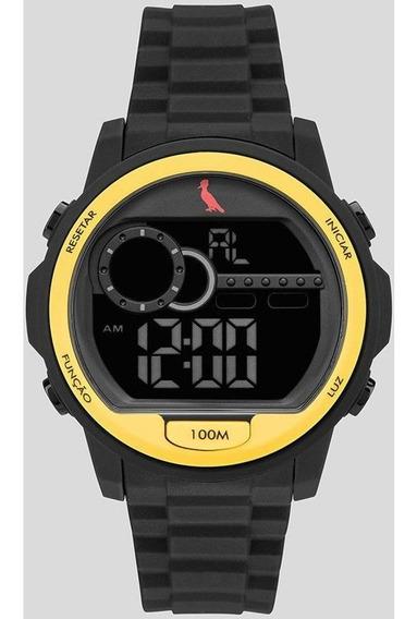 Relógio Reserva Aro Amarelo Re14627/8c