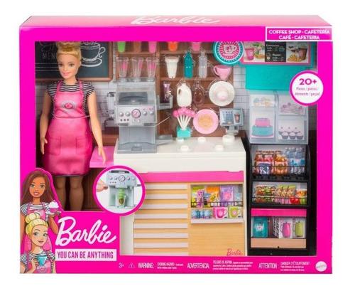 Imagen 1 de 3 de Barbie Cafetería  Original De Mattel