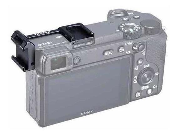Suporte Com Dupla Sapata Pra Sony A6000 Até A6600 Uurig R032