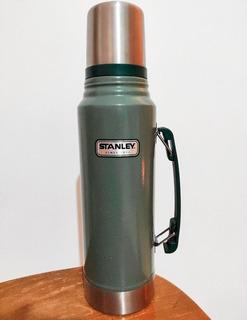 Termo Stanley Clasico 1 Litro - Poco Uso Con Vaso Termico