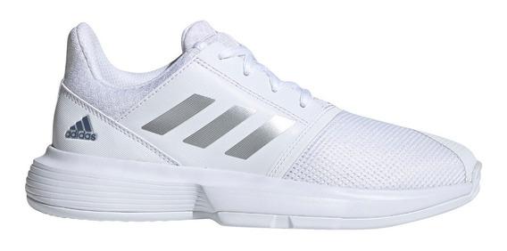 Zapatillas adidas Courtjam Tenis Bla De Niños
