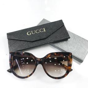 bc27f1b5b Oculos Gucci Feminino Onça - Calçados, Roupas e Bolsas no Mercado ...