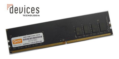Memória Desktop Dato 8gb Pc2666 Ddr4- Original