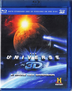 The Universe In 3d History Pelicula Blu-ray 3d