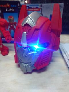 Parlante Transformers Bluetooth+usb+msd+auxiliar