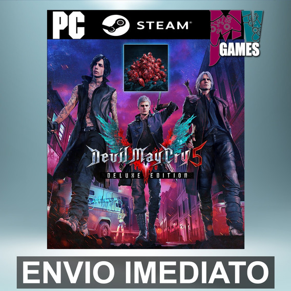 Devil May Cry 5 Deluxe C/ Red Orbs - Pc Steam Gift Presente