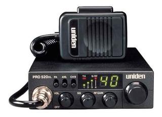 Radio Cb Uniden Pro520xl Movil 40 Canales 7 Watts Compacto