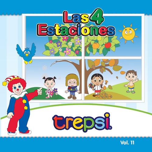 Cd Vol 11 Trepsi Musica Infantil Niños Las 4 Estaciones