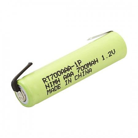 Bateria Recarregável C/ Terminal Aaa Nimh 1,2v 700mah Rontek