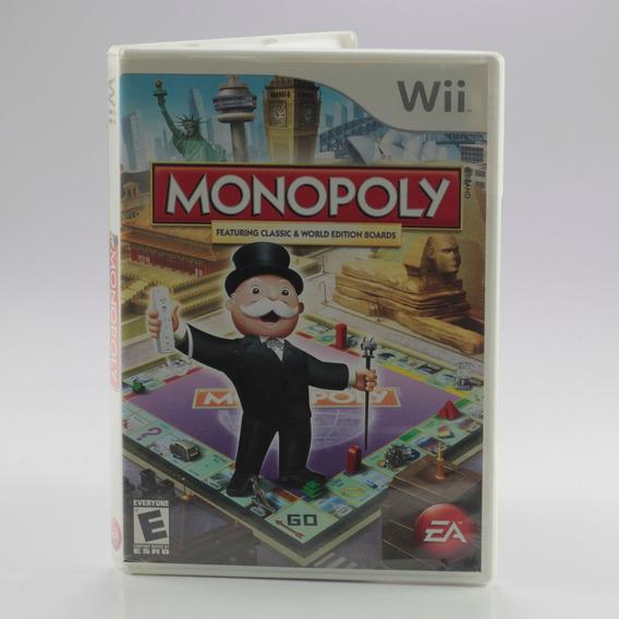 Monopoly Wii Nintendo Wii Original Banco Imobiliário