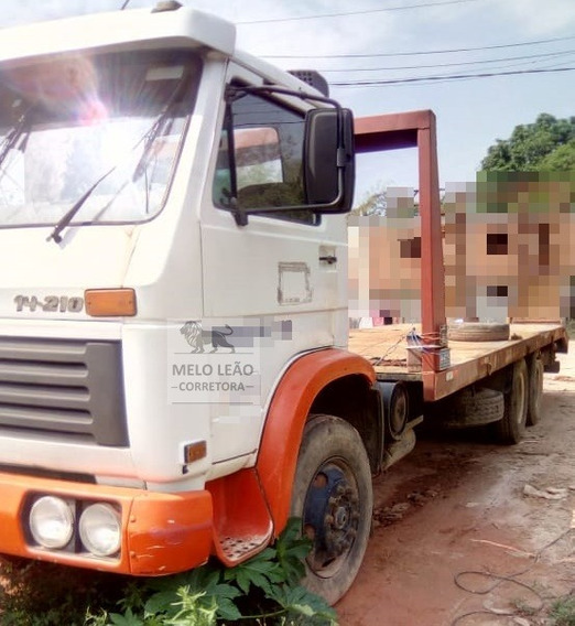 Vw 14-210 - 88/88 - Truck, Plataforma Fixa De 8.50 Metros