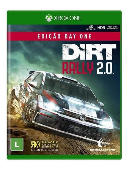 Dirt Rally 20 Edição Day One Xbox One Mídia Física Lacrado