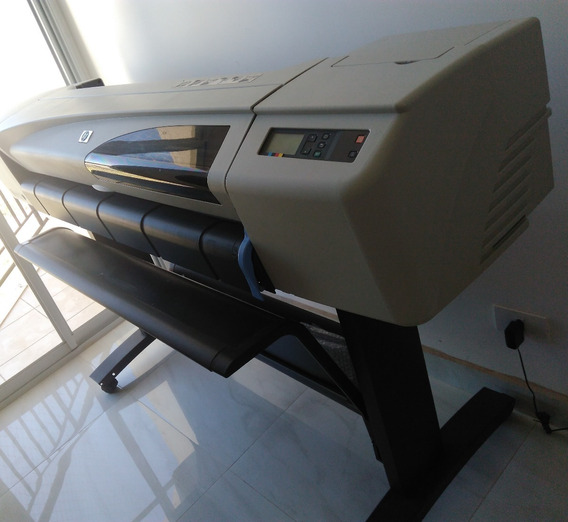 Plotter Hp Designjet 510 Teste E Retire No Local