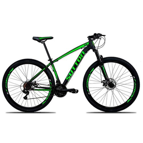 Bicicleta Sutton 29 Câmbio Shimano 21v Disc Hidráulico Gts