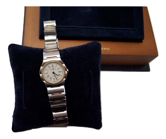 Relógio De Pulso Aço Inoxidável Baume & Mercier Quartz