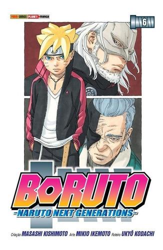 Boruto 6 Naruto Next Generations! Mangá Panini! Novo Lacrado