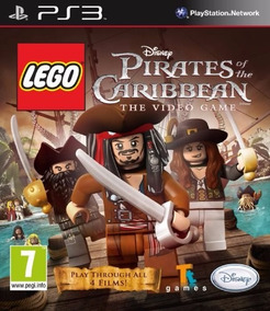 Jogo Lego Piratas Do Caribe Ps3 Pirates Caribbean Mídia Físi