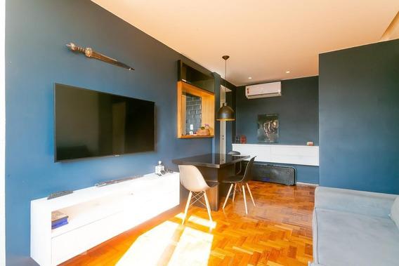 Apartamento No 6º Andar Mobiliado Com 1 Dormitório - Id: 892961753 - 261753