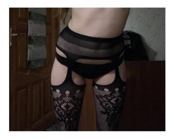 Sexy Pantimedias Tipo Liguero, Sexy Stockings(envio Gratis)
