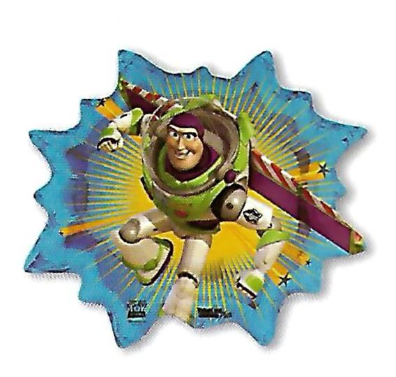 6 Globos Metalico 22pulg Toy Story Buzz Lightyear 52cm Helio