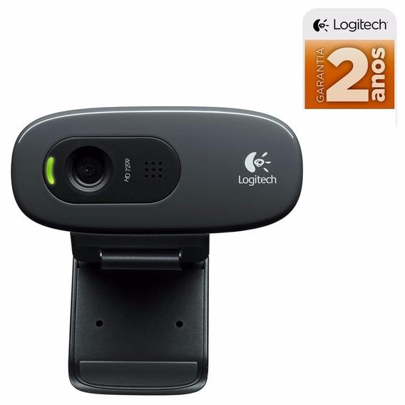 Webcam Logitech Hd 720p Youtube, Facebook, E Lives Ao Vivo
