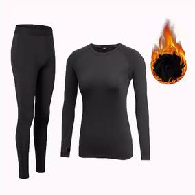 Roupa Térmica Frio Forro Peluciado Blusa+calça+luva+meia