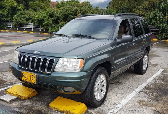 Jeep Grand Cherokee 4x4. Año 2002. ***poco Uso*** Bonita
