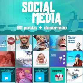 60 Artes Para Dentistas, Facebook E Instagram + Legendas