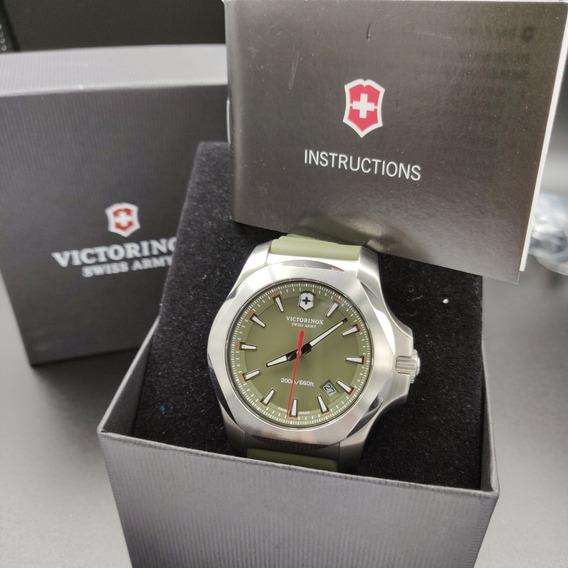 Relógio Victorinox I.n.o.x 241683.1 . Vidro De Safira . 43mm