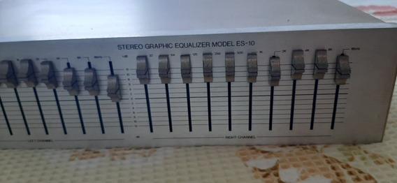 Equalizador Modelo Es 10 Gradiente (frete Grátis) Aproveite