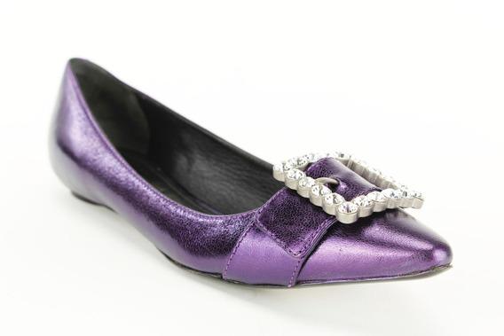 Zapatos Planos De Ballet Marc Casi Nuevos P/mujer T.8.5 38.5