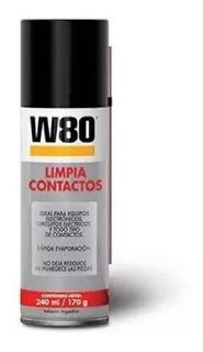 Limpia Contacto W80 Aerosol 240ml Desengrasante Electronica