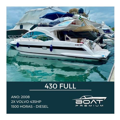 430 Full, 2008, 2x Volvo 435hp - Ferretti Sunseeker - Sessa