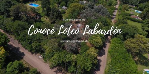 Venta Lotes En Malvinas Argentinas - Loteo Labardén