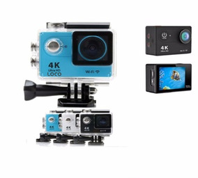 Action Camera Loco Wi-fi 4k 1080p Prova D
