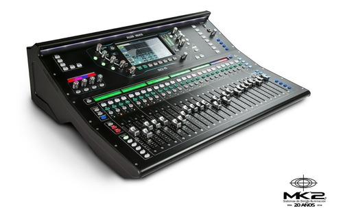 Allen & Heath Sq-6 Consola Mixer Digital 48 Ch 36 Bus Cuotas