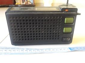 Rádio Antigo Portátil Philips Om Fm Leia Descrição